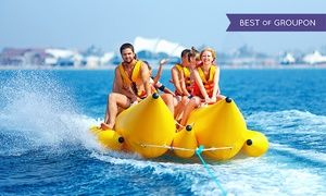Groupon - Banana Boat Ride for One or Two, or Banana Boat Ride and Jet Boat Ticket from Jet Boat Miami (Up to 43% Off) in Downtown Miami. Groupon deal price: $16