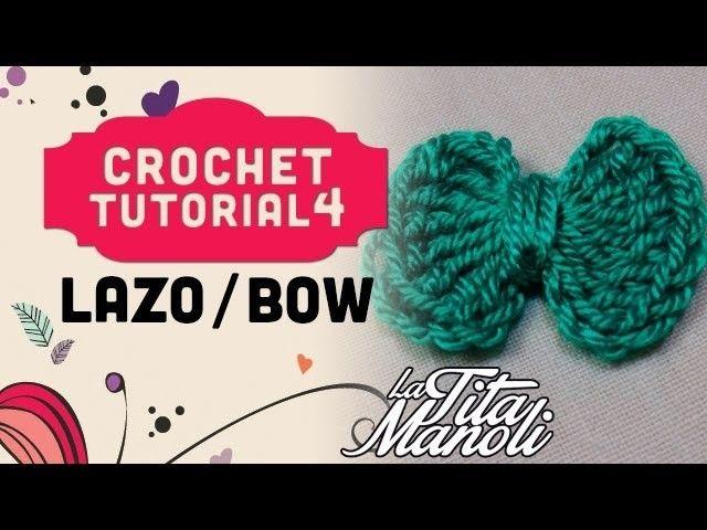 Crochet paso a paso en español - Lazo. Bow | Pinterest | En español ...