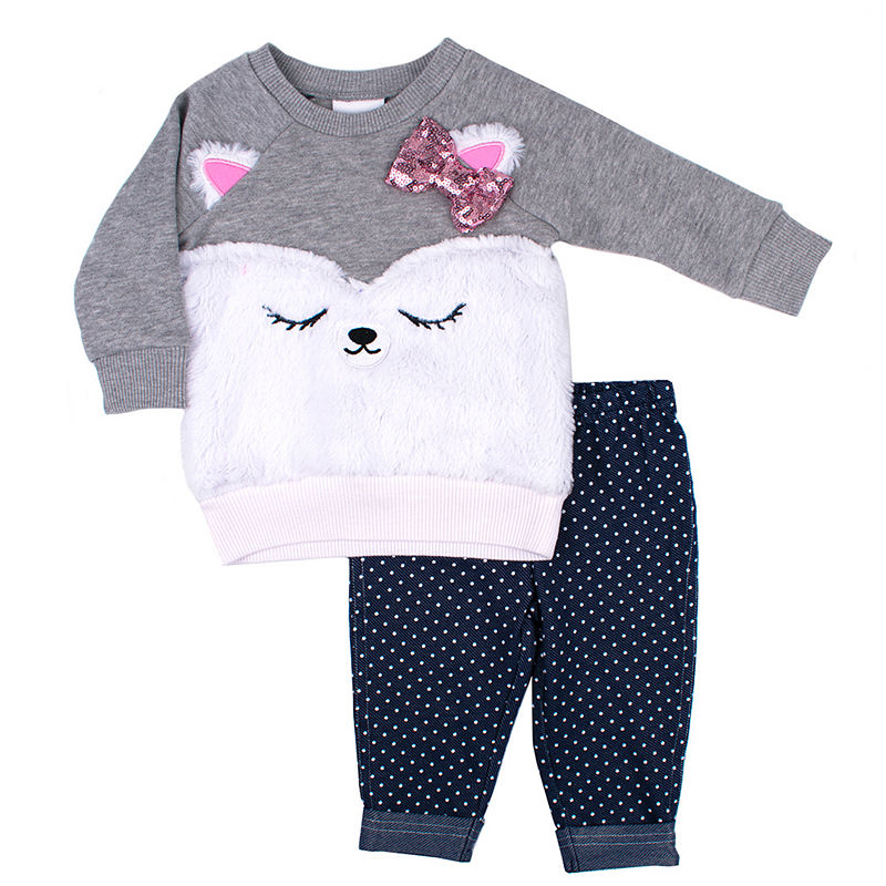 7caccf513 Nanette Baby 2-pc. Legging Set-Baby Girls in 2019