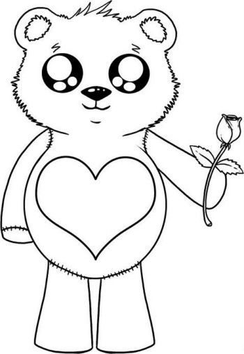 Dibujos De Amor Para Una Carta Perfecta Animales Faciles De
