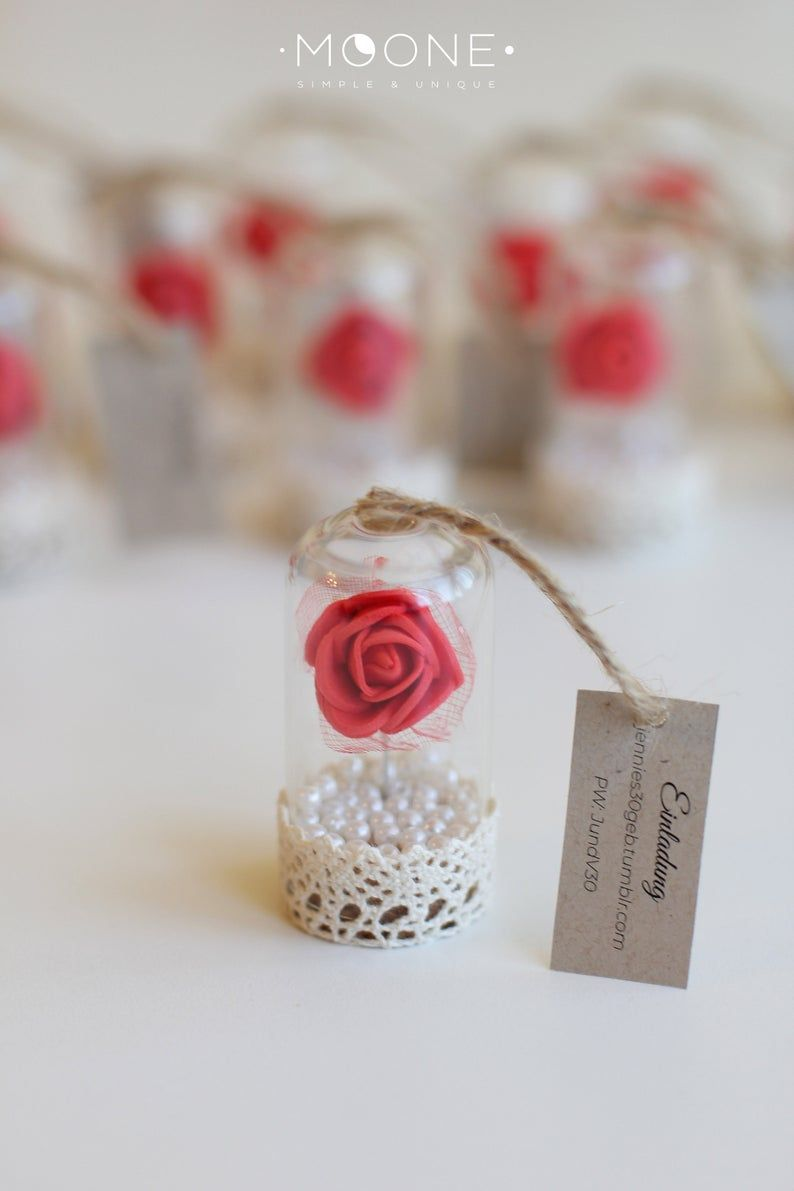 10pcs Red Rose Dome Favors Beauty And The Beast Favors Etsy Rose Dome Flower Wedding Favor Beauty And The Beast Wedding Theme
