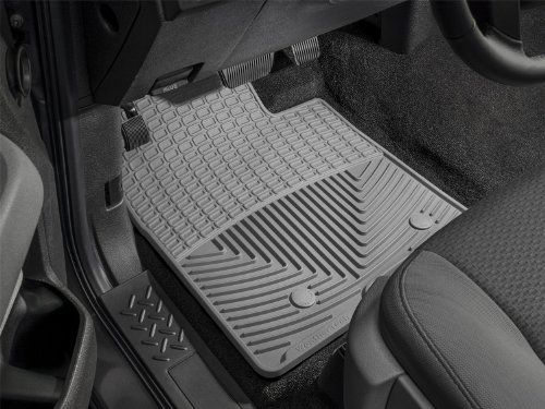 Weathertech Trim To Fit Front Rubber Mats Grey Weather Tech Rubber Mat Rubber Floor Mats