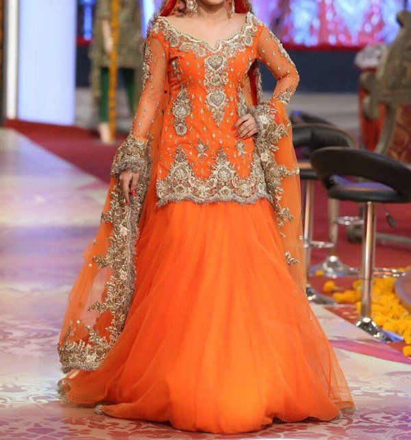 Net Embroidery Bridal Suit Unstitched (CHI-101) Online
