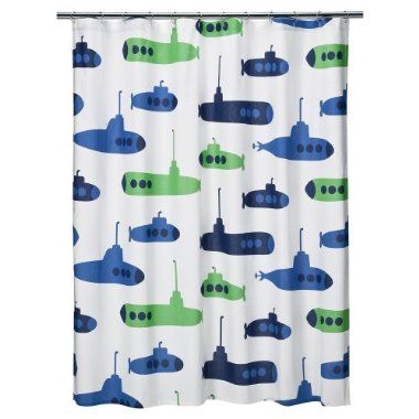 hud's shower curtain