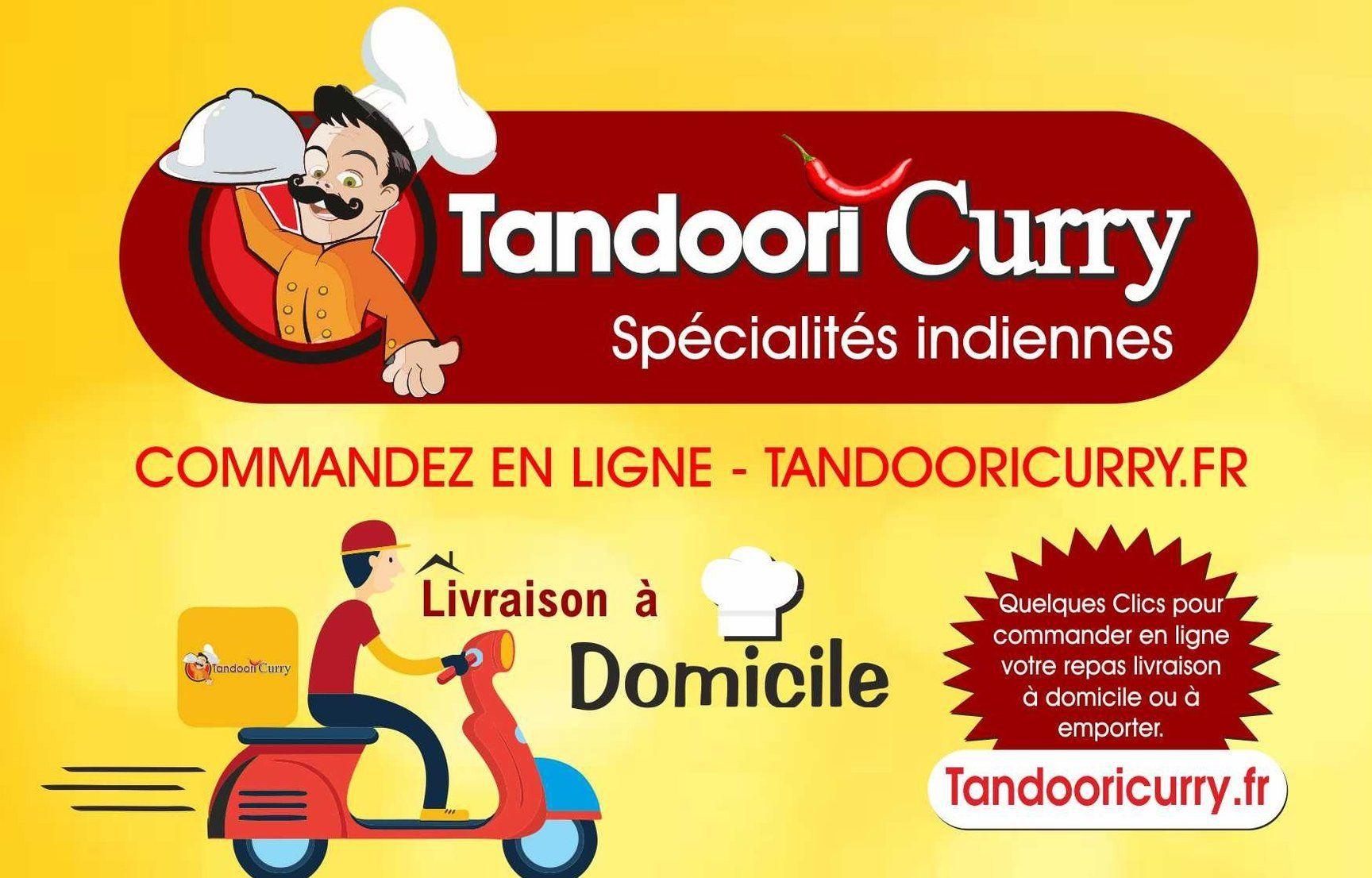 Tandoori Curry Restaurant Indien, Livraison de Repas Emporter, Sur