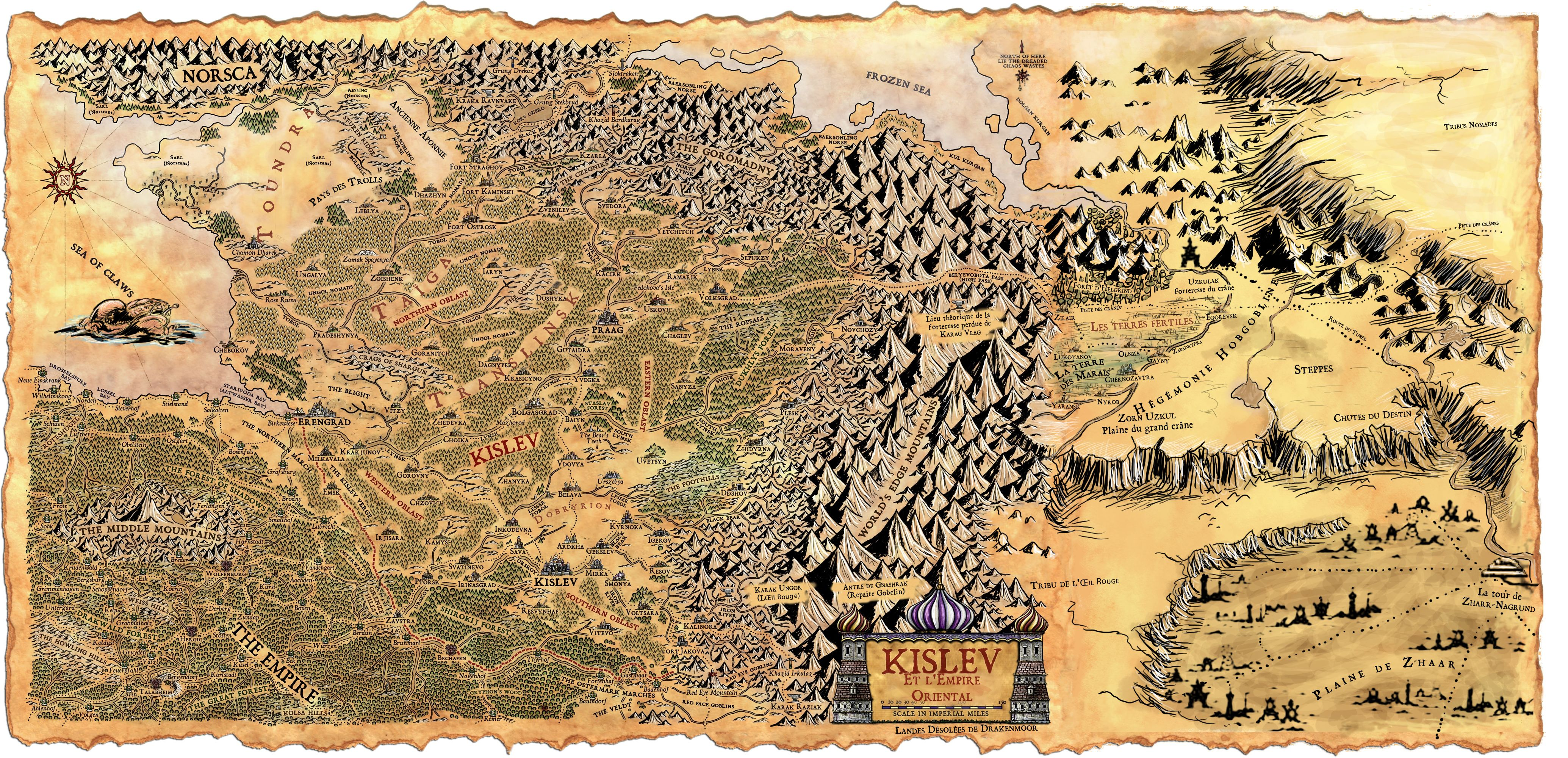 Warhammer Fantasy Land Of Chaos Dwarfs Map Google Suche Warhammer