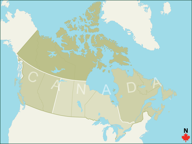 Location Map Canada Pinterest Location map Campsite and