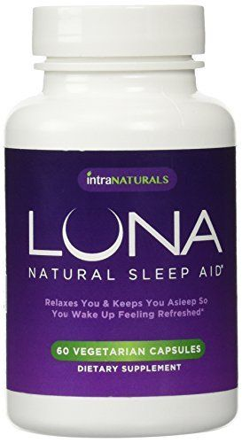 Luna 60 Vegetarian Capsules 1 Natural Sleep Aid On Amazon 100 Herbal Amp Non Habit Forming Sleeping Pill Made With Valerian Chamomile Passionflower L Com Imagens