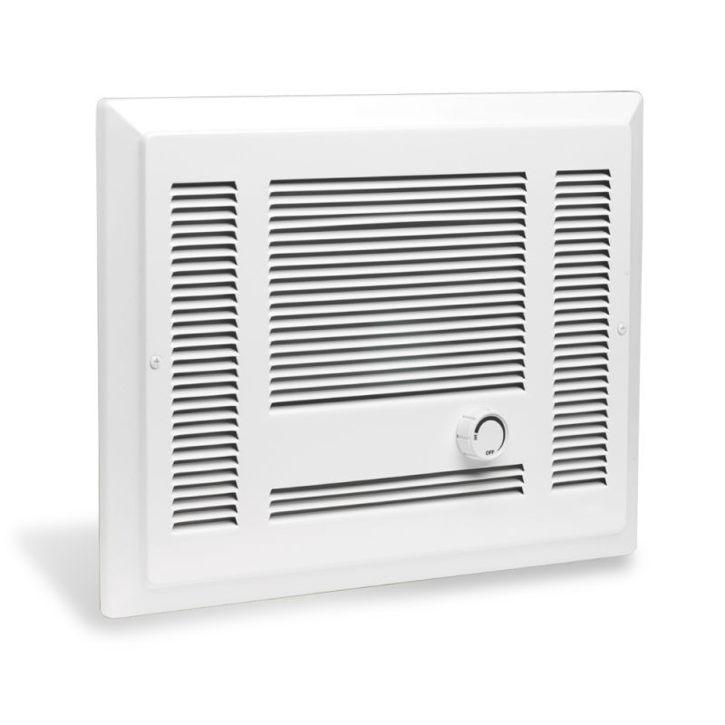 Cadet Sl101t 3415 Btu 120 Volt 1000 Watt In Wall Fan Forced Electric Heater From White Heaters Wall Heater Electric Heater Ceiling Fan Design Wall Fans