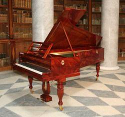 Replica of 1830 Pleyel piano