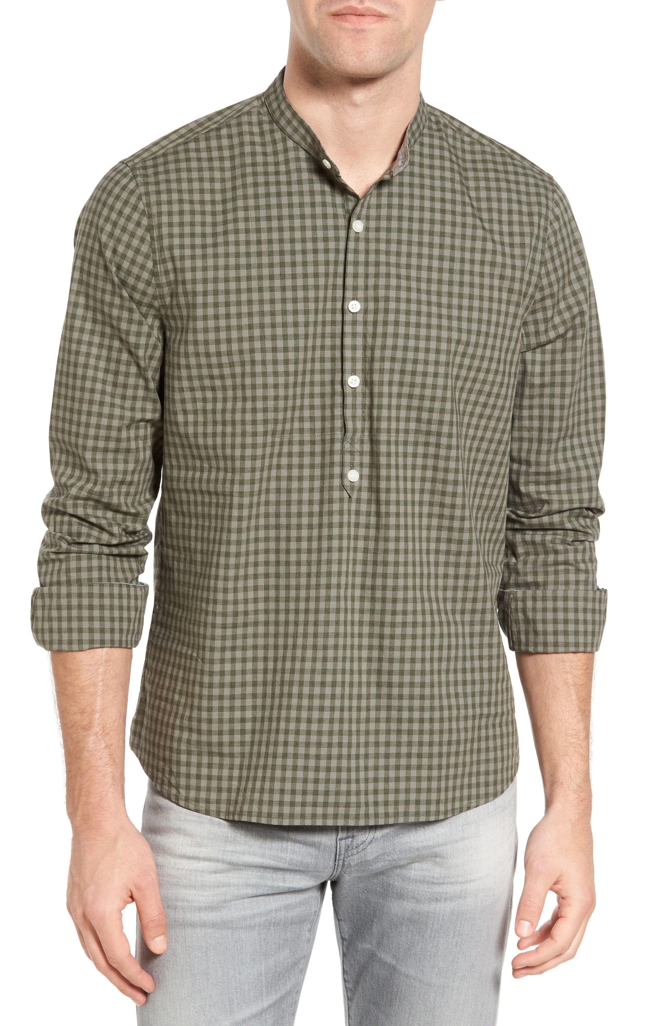 Forest Green Mens Dress Shirt