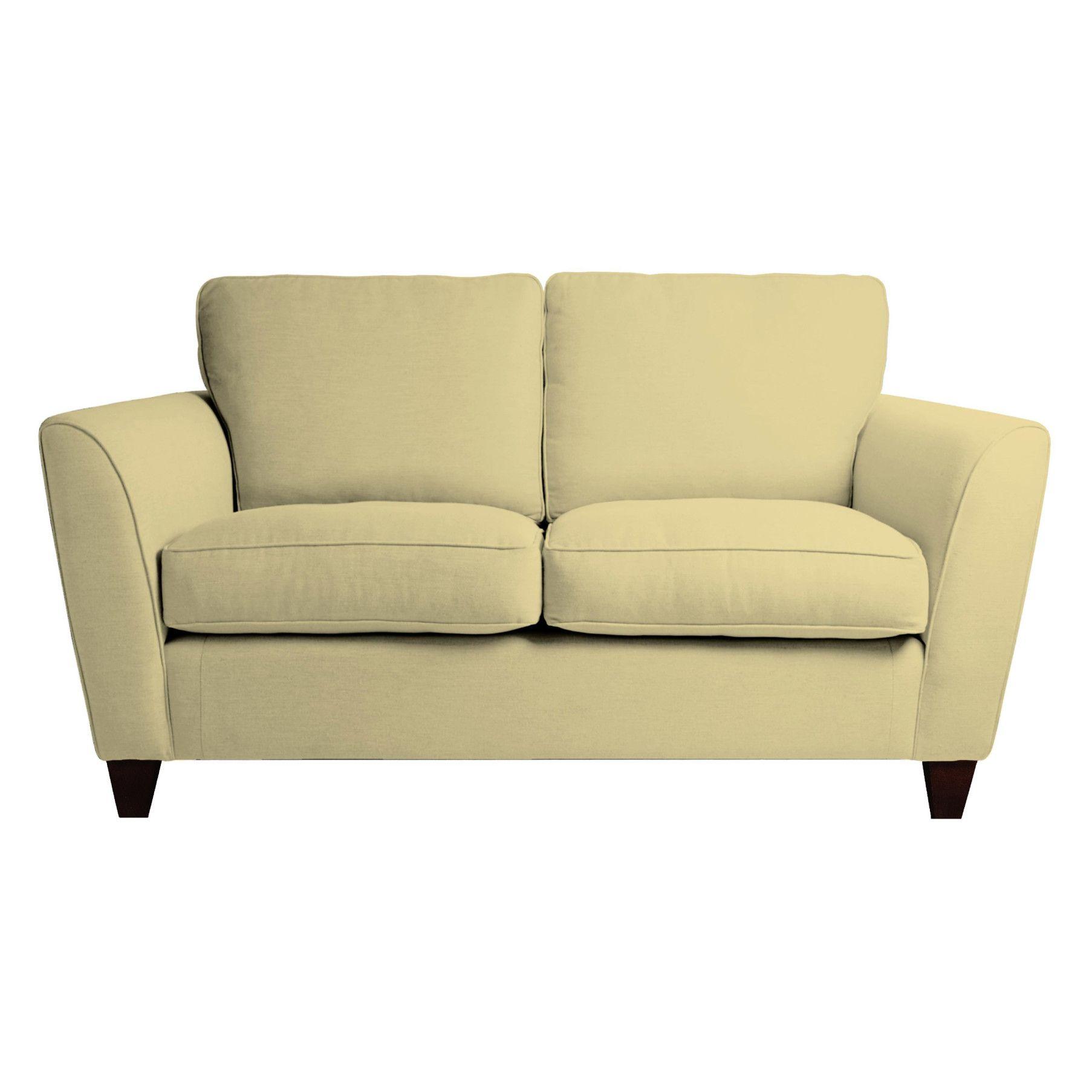 Made To Order Sofas Ashton Fabric 2 Seater Sofa In Eloise Pale Camomile Laura Ashley