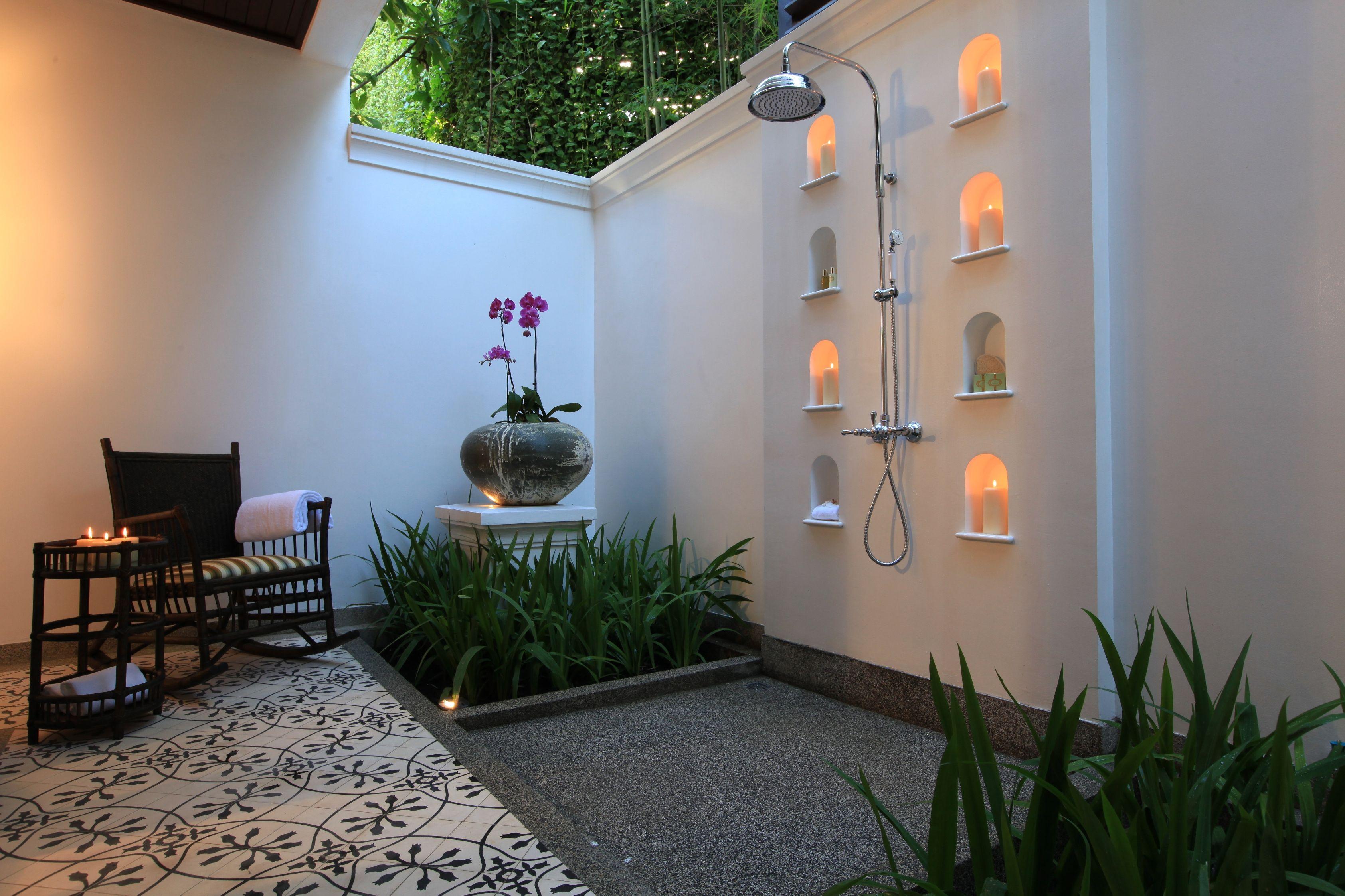 Pineneida Moreira On Area Externa  Pinterest Fair Luxury Outdoor Bathrooms Design Inspiration