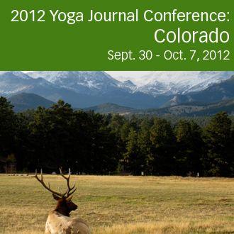Yoga Conference Colorado Fall 2012