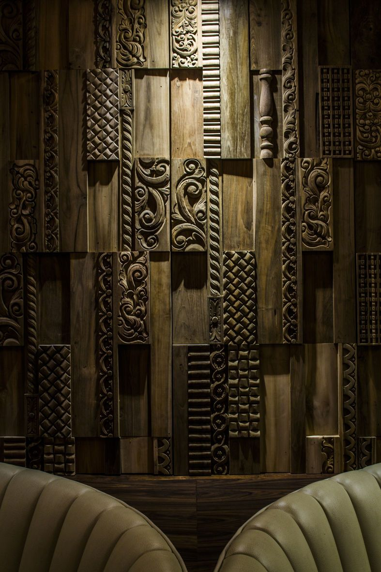 Decorative Wooden Wall Panel Mercury Wonderwall Studios
