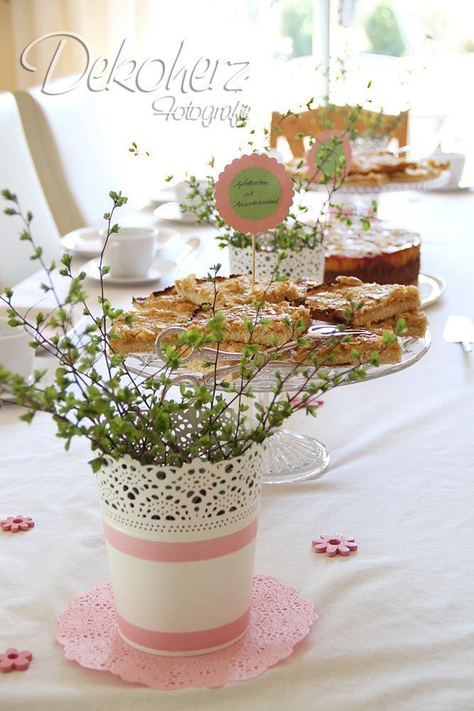 Dekoherz tischdeko decoration pinterest tischdeko for Tischdeko garten