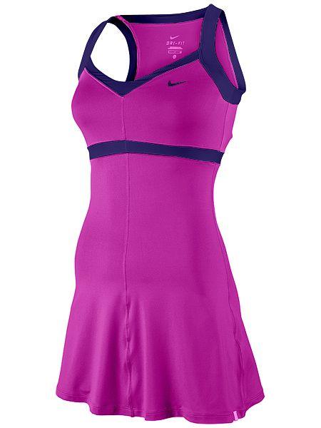 Atomic Pink Premier Maria Tennis Dress Colorful Nike #tennis dress | Tennis dress, Tennis outfit women ...