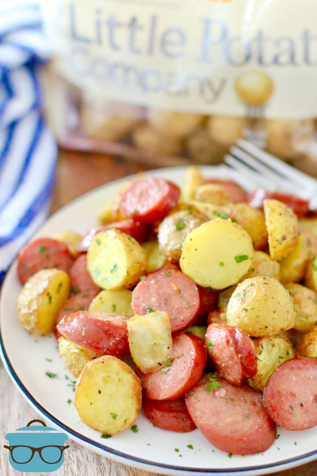 Air fryer potatoes and sausage meal Recipe Sausage