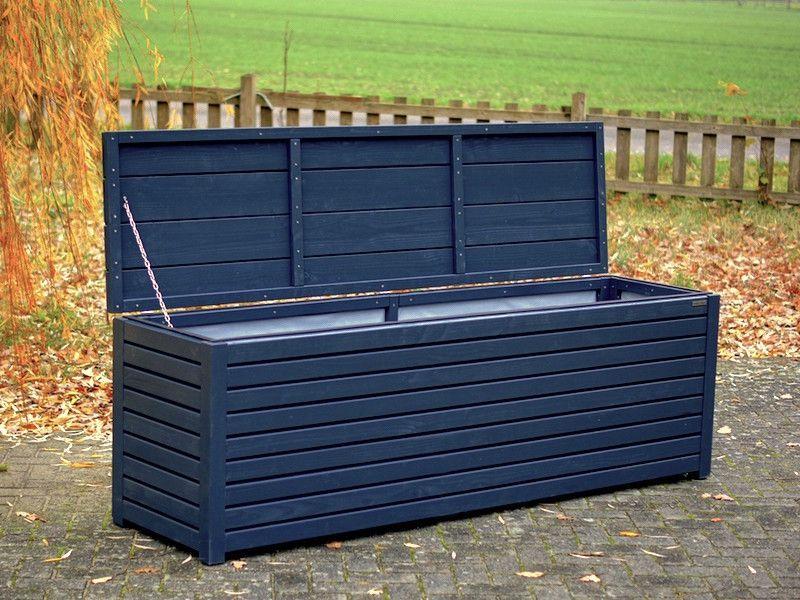 Kissenbox Auflagenbox Holz Anthrazit Grau Made In Germany Binnen Markt Auflagenbox Kissenbox Box Truhe Kissen Auflagenbox Auflagenbox Holz Kissenbox