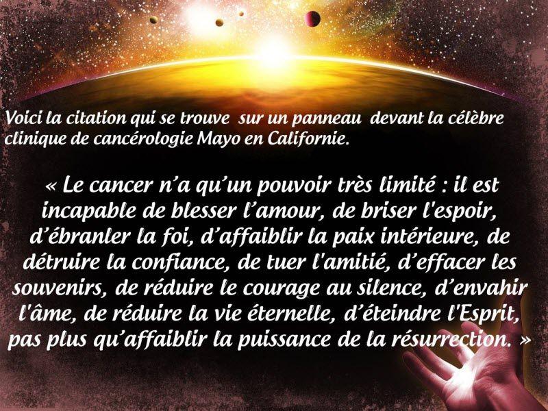 Le célèbre Le cancer   Citations et Pensées   Pinterest   Cancer &YM_78