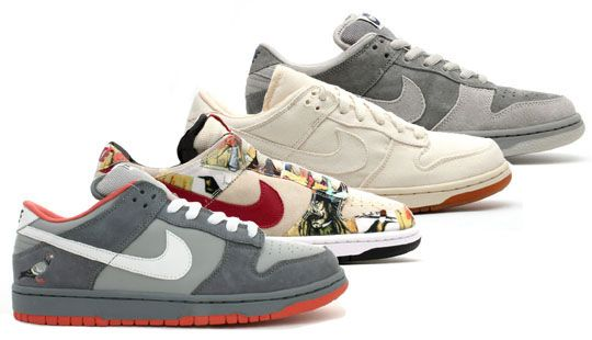 Nike SB Dunk Low City Series (Paris, Tokyo, London, New York)