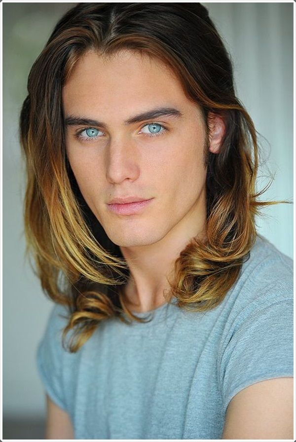 lucky long hairstyles men