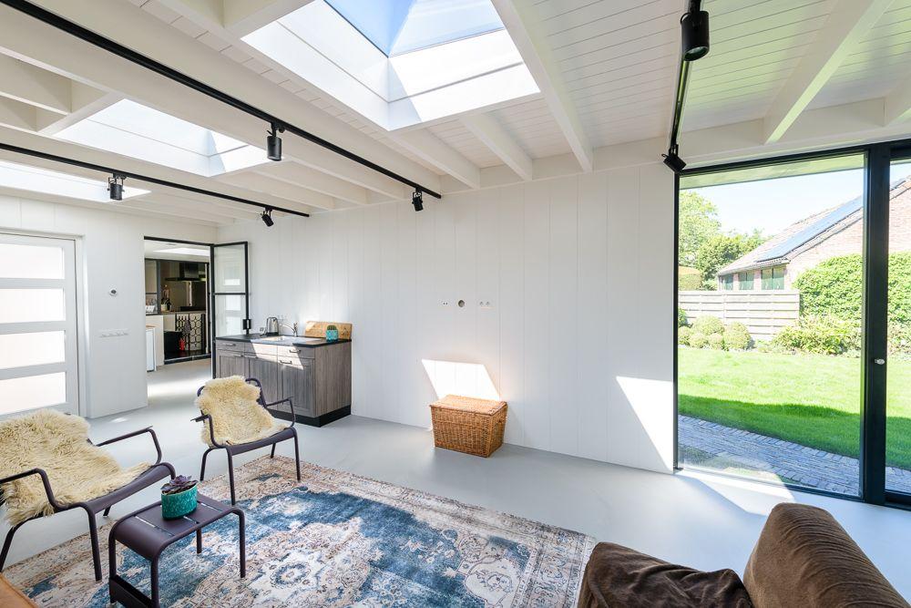 Mooie Lichtinval Van Boven Modern Design Modern Design