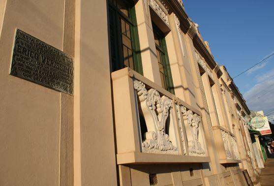 Fachada da Casa Museu Erico Verissimo (Reprodução)