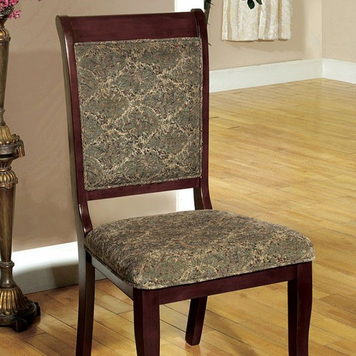 Furniture Of America St. Nicholas I Dining chair - CM3224SC-2PK (2Piece) Free Shipping