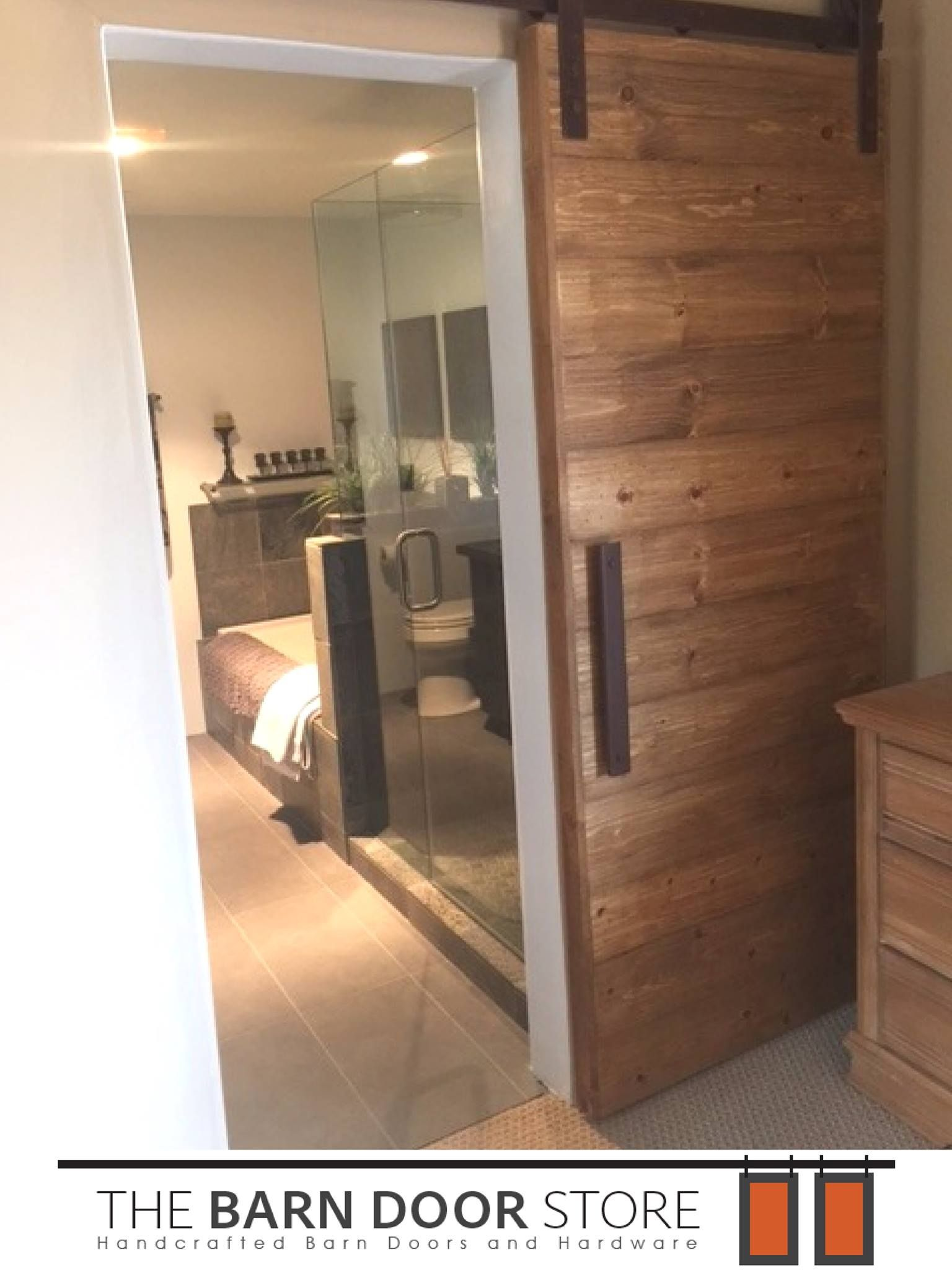 Another Horizontal Barndoor Made And Installed By Our