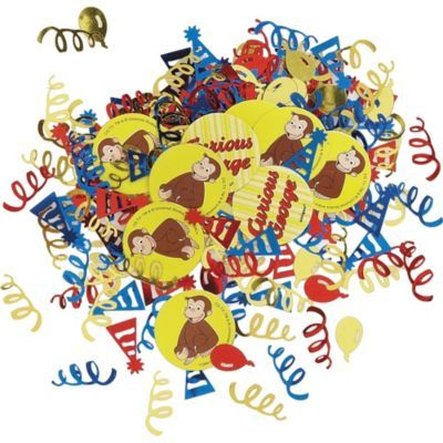 Celebrate with the Curious George Confetti for your Curious George Birthday party. Find amazing selections and prices on all birthday party decorations & supplies at Birthday in a Box.