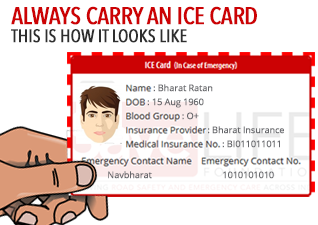 in case of emergency card template