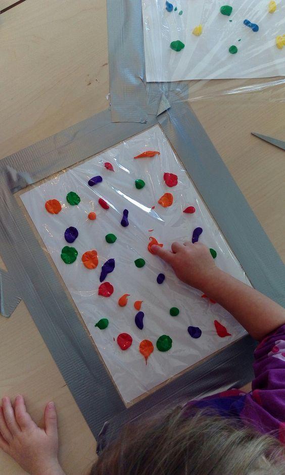 Bildergebnis für malen kleinkind folie #painting