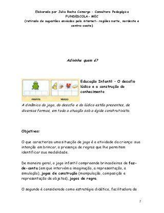 Dinamicas em sala de aula historia pdf
