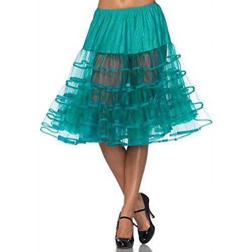 Leg Avenue Knee-Length Petticoat Jade In 2020