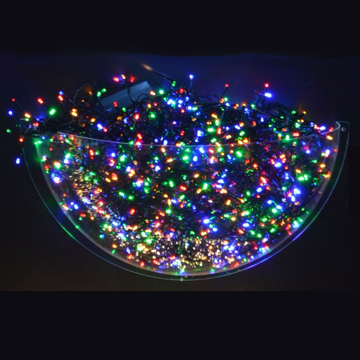 Kaemingk Outdoor Christmas Festive Multi Colour lights. Includes a ...