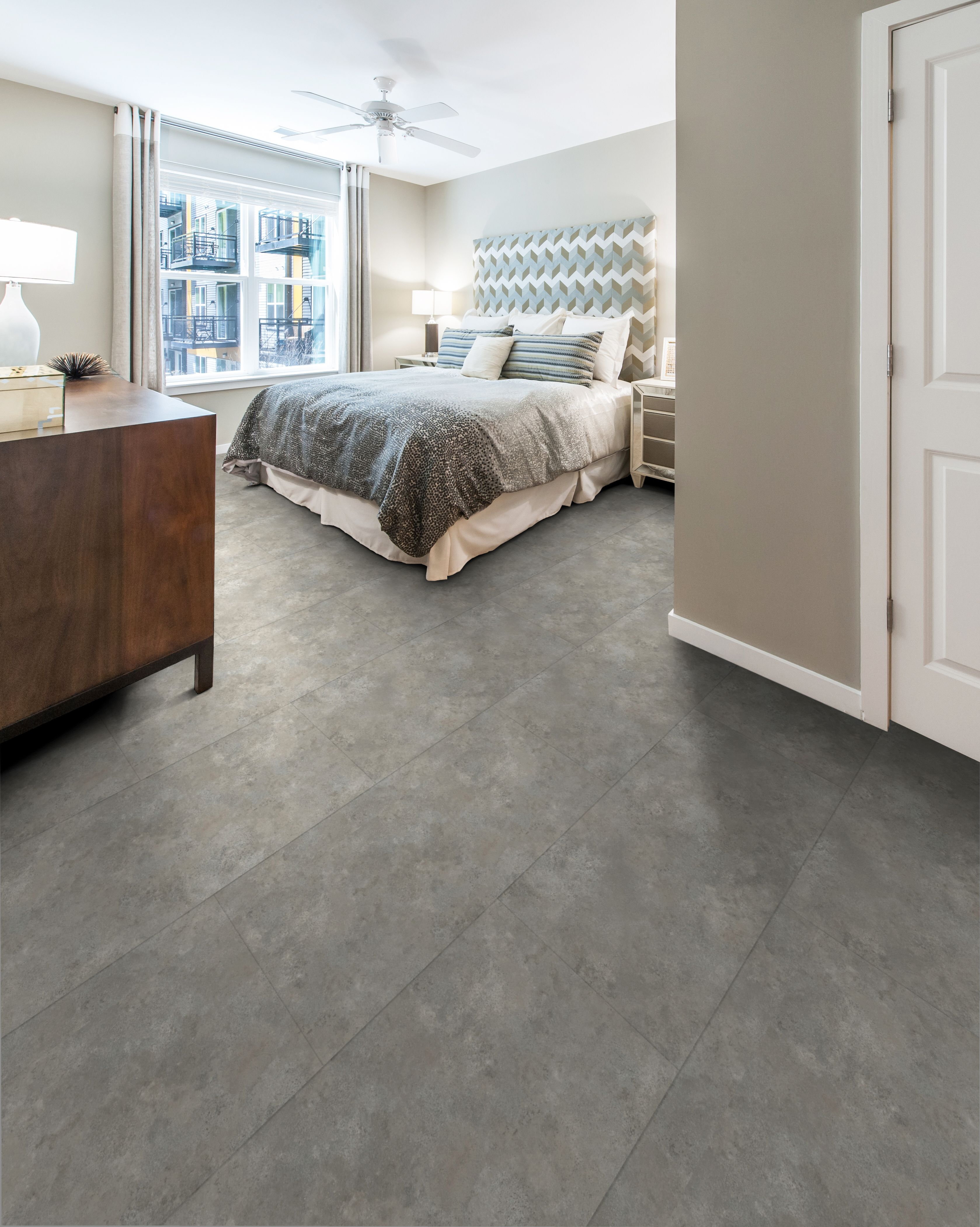 Luxury Vinyl Tile Is The Perfect Addition With Carpet Tiles