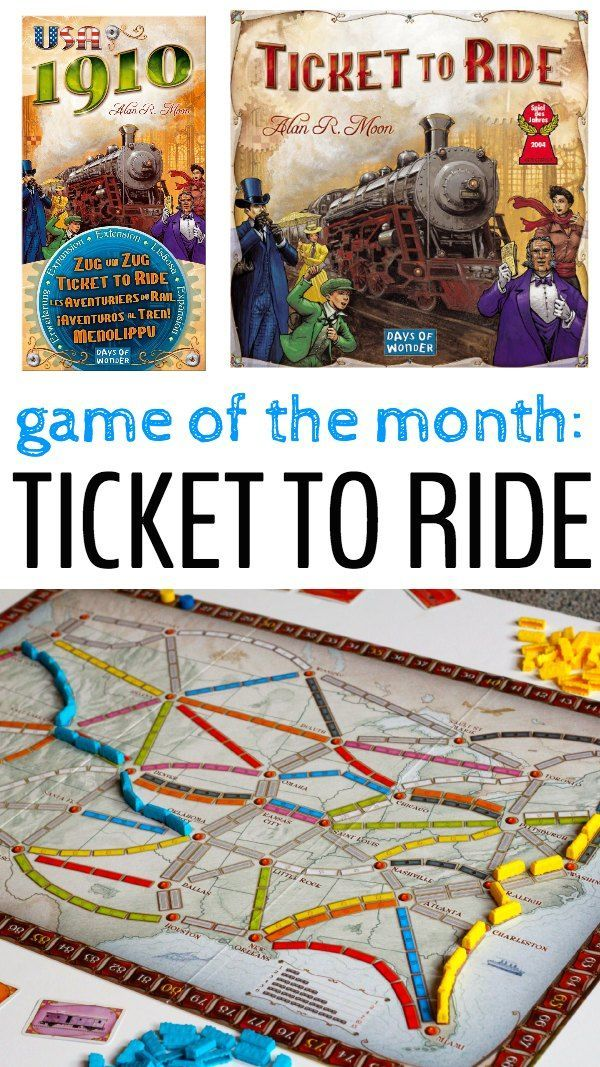Ticket to Ride Fun Family Board Game Best family board
