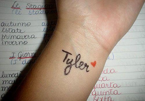Boyfriend Name Tattoos On Wrist Sleeve Tattoo Boyfriend