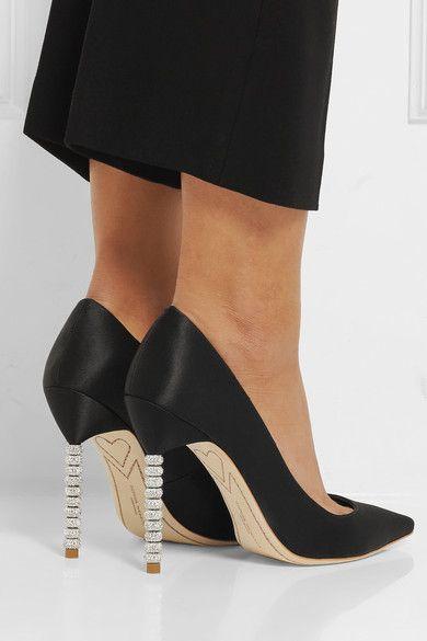 Coco Crystal boots - Black Sophia Webster EPWFuDZTY