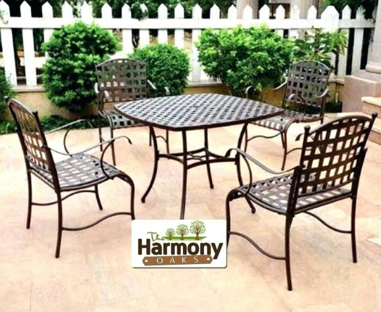 Used Patio Furniture Palm Springs Iron Patio Furniture Outdoor
