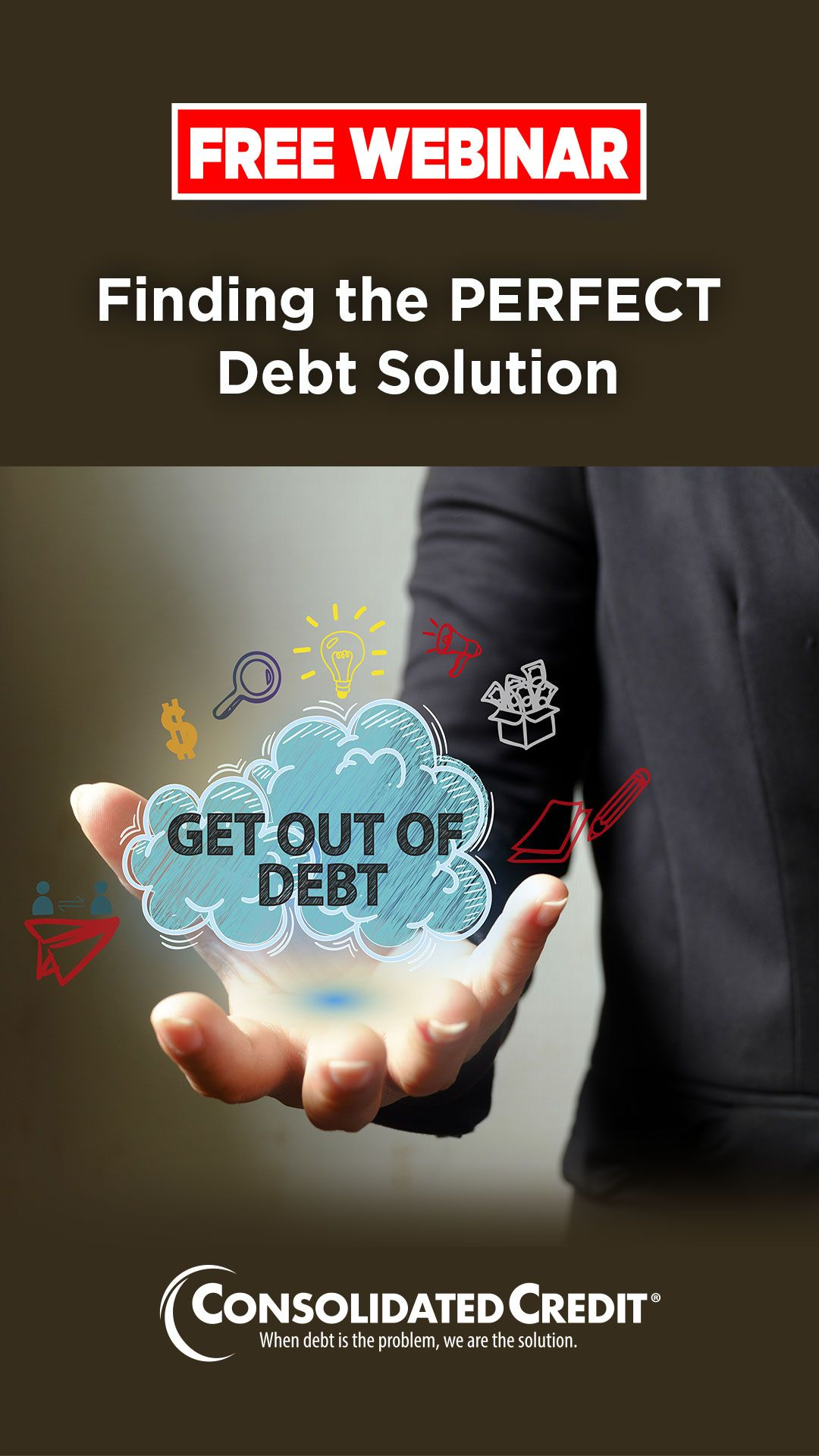 Free webinar finding the perfect debt solution