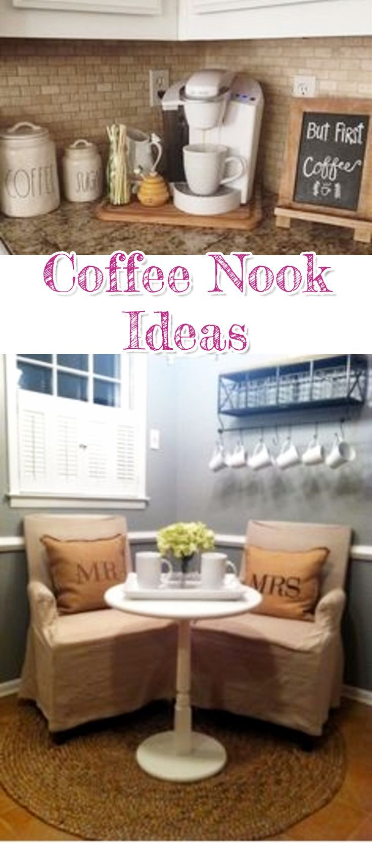 diy coffee bar ideas stunning farmhouse style beverage stations for small spaces and tiny. Black Bedroom Furniture Sets. Home Design Ideas