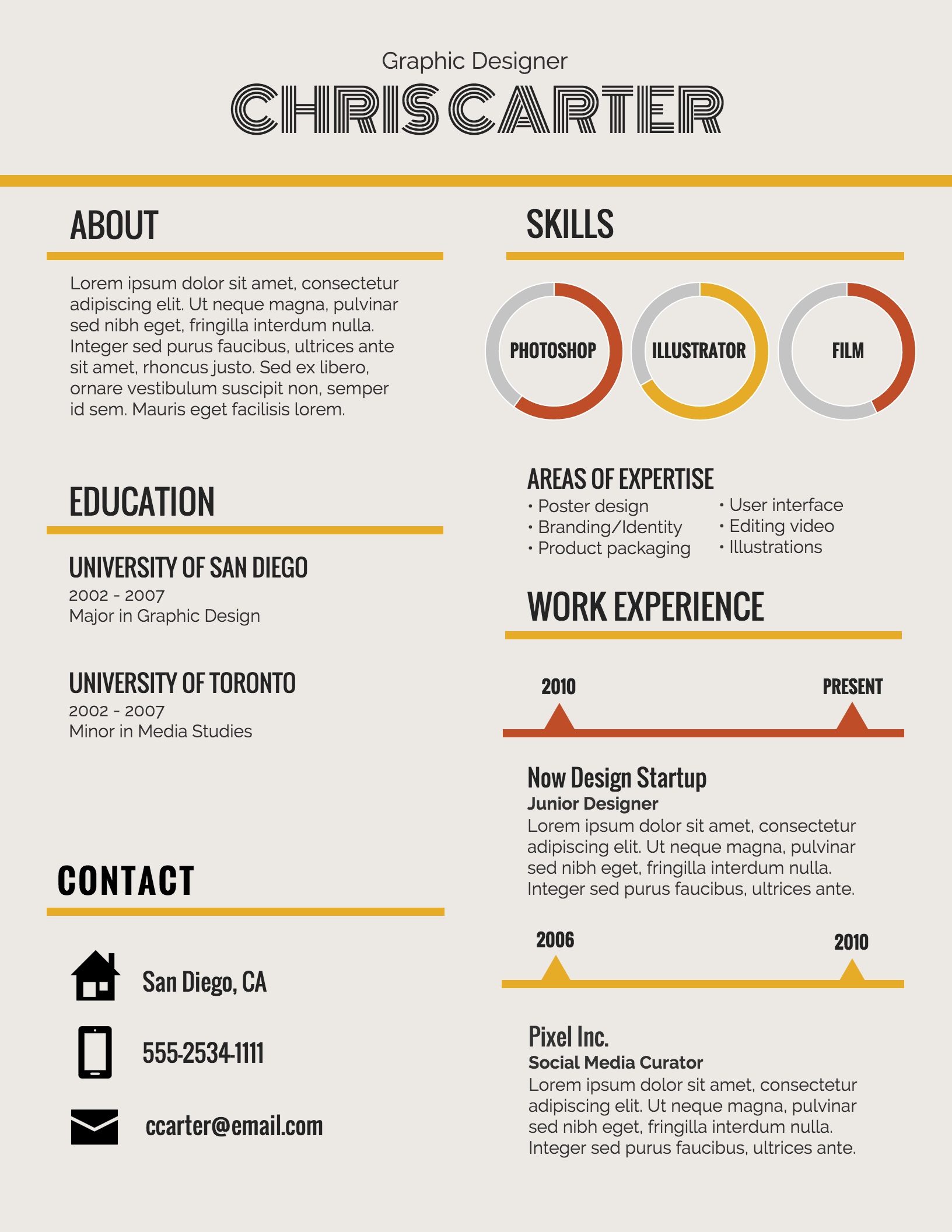 Infographic Resume Template Venngage Infographic Resume Infographic Resume Template Resume Template