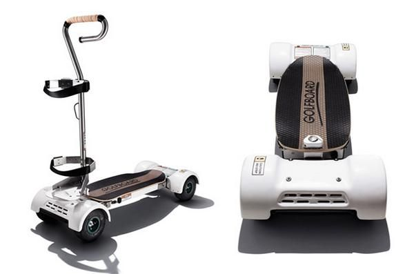 Why take a cart when you can carve a fairway? Introducing, the Golfboard: