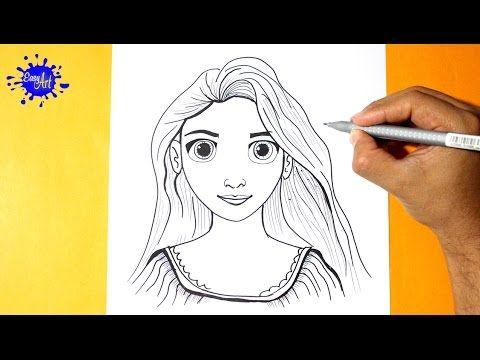Como Dibujar A Rapunzel Enredados L How To Draw Rapunzel L Como Dibujar Una Princesa Rapunzel Dibujo Rapunzel Enredados Rapunzel