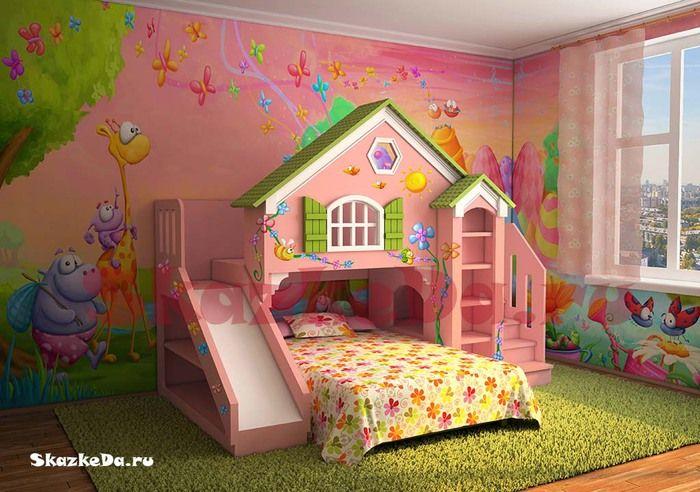 cama litera cama alta (18) (700x492, 117Kb) | Kid\'s Room | Pinterest ...
