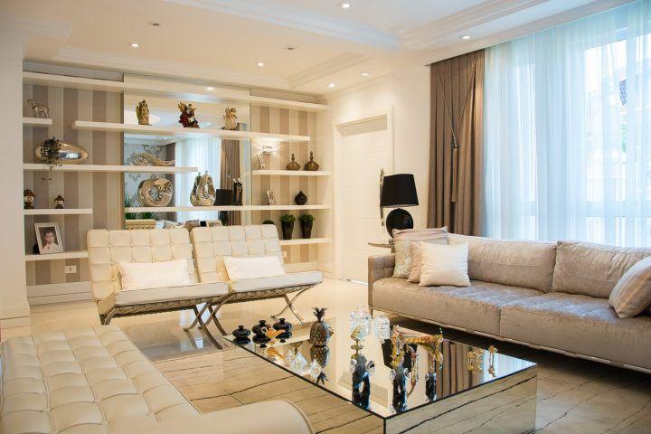 arredamento classico moderno per soggiorno new classic | andrra ...