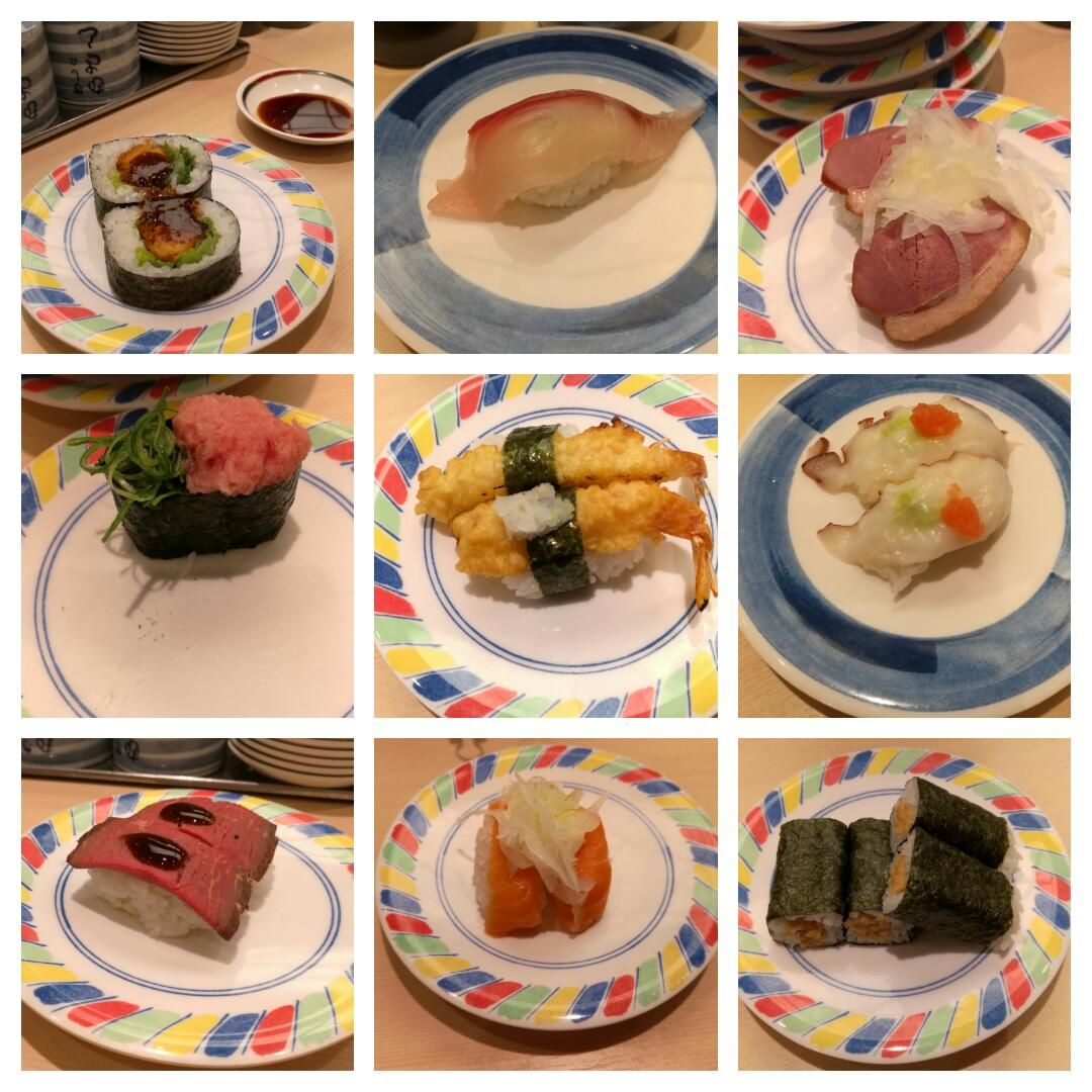 Sushi a tutiplén