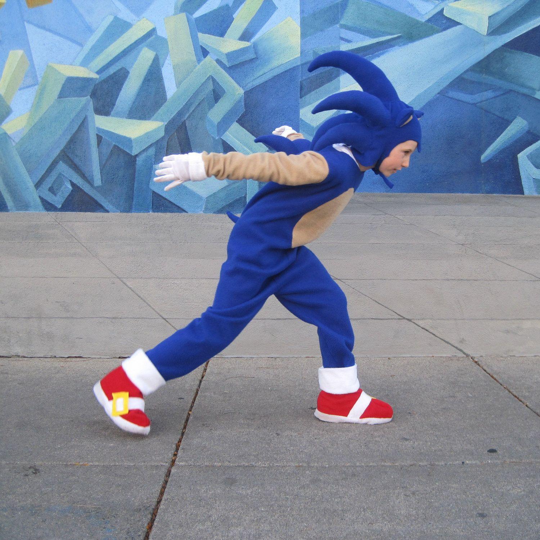 Child/'s Sonic The Hedgehog Generations Boy Costume